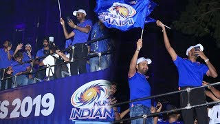 Watch Full Video of MI Victory Parade in Mumbai after Beating CSK in Ipl Finals