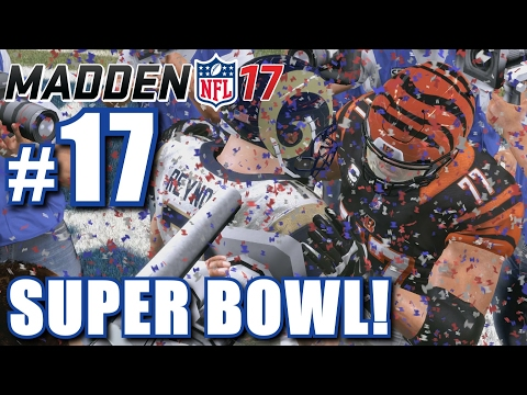 CRAZIEST ENDING EVER TO A SUPER BOWL! | Madden 17 | Career Mode #17