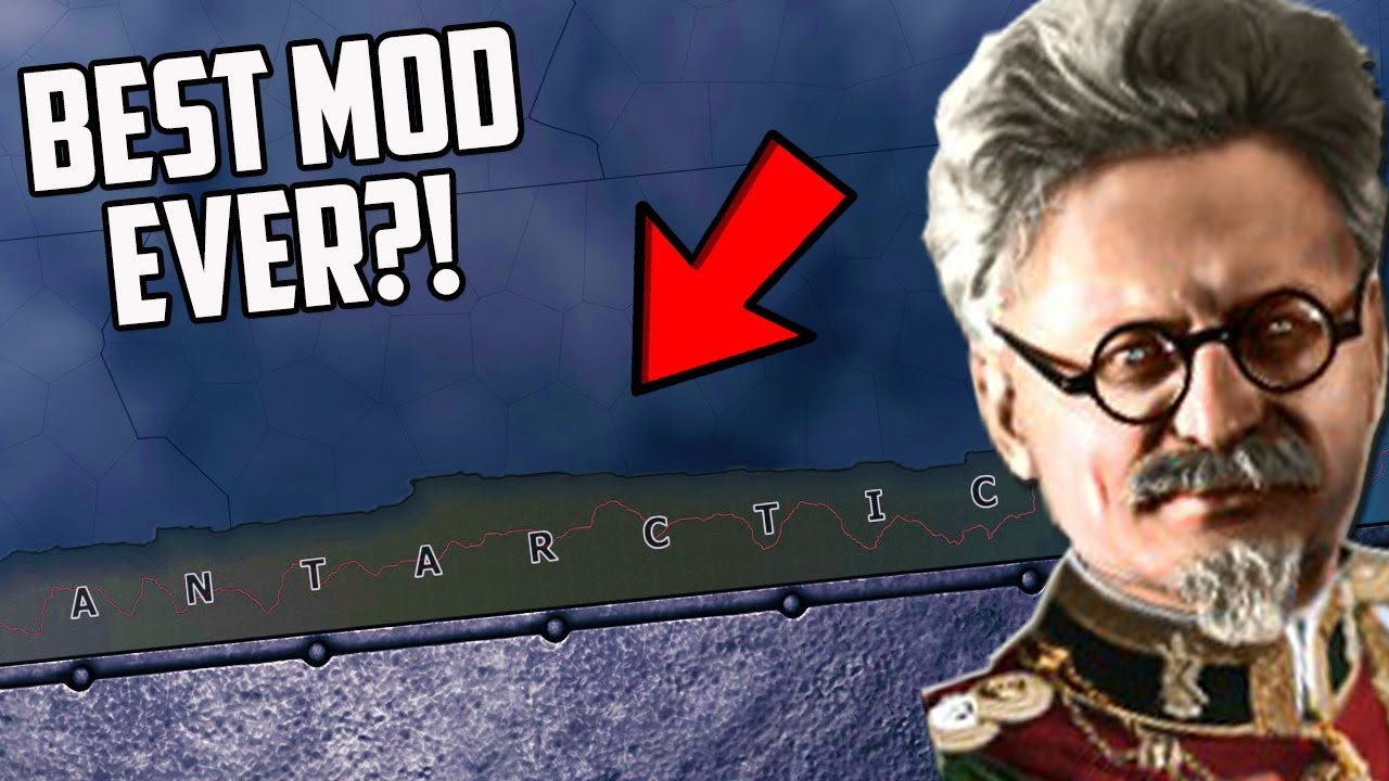 What if Trotsky Fled to Antarctica?! HOI4