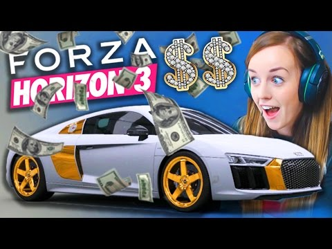 BLING R8 WRAP! - Forza Horizon 3 Gameplay!