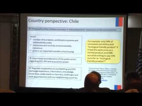 04   Regional Cooperation on Ecolabelling and Sustainable Public Procurement in the Southern Cone  Country perspective Chile    Antonia Biggs
