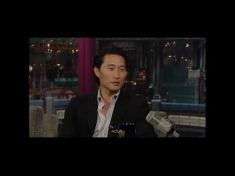 Daniel Dae Kim on David Letterman
