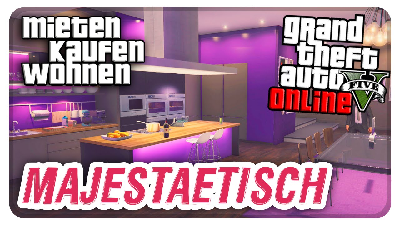 Gta online designer apartment tour 1 2 millionen for Designer apartment gta 5