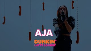 Aja Performs At The Dunkin Latte Lounge