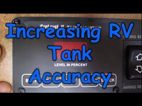 RV Black/Gray/Fresh Tank Monitoring with See Level II