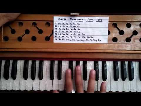 Kajra Mohabat Wala Tune Learn On Harmonium