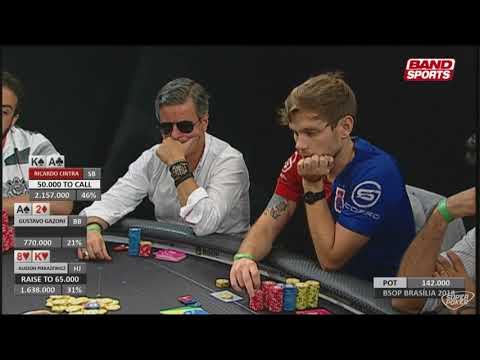 Poker Night - 11/05/2018 - BSOP Brasília - 2ª Etapa - Main Event, dia 3 - Parte 4