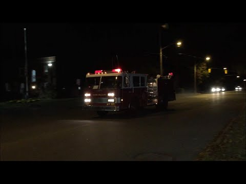 Glens Falls Fire Reserve Engine 303 and Ambulance 901 Responding