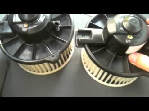 How To Replace A Toyota Blower Motor Youtube