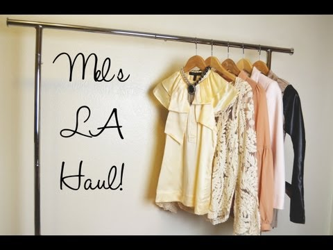 Mel's L.A. Haul