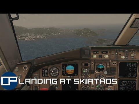 FSX | QualityWings Boeing 757-200 | London Gatwick to Skiathos | Part 3: Landing