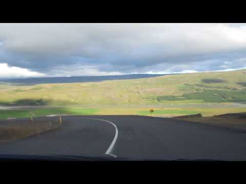 One of Fast and Furious driving down hill??? ONLY IN ICELAND