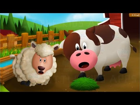Learn to Feed Farm Animals - Fun and Educational Game for Little Kids
