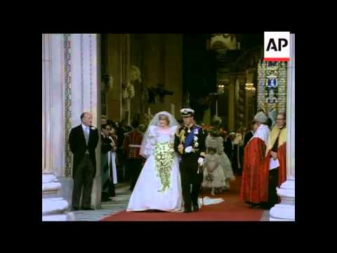 The Royal Wedding - Prince Charles & Lady Diana Spencer - No Sound - 1981