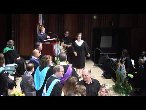 2013 Waterfront Campus Convocation – June 17, 2013