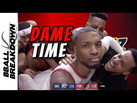 Damian Lillard Hits The Most Epic Game Winner In NBA History