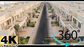 Bahria Town Karachi : Precinct 10A Street view 360° VR Video 4K Ultra HD