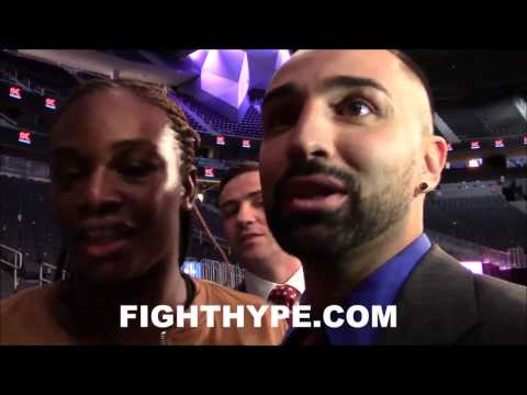 PAULIE MALIGNAGGI IMMEDIATE REACTION TO ANDRE WARD'S WIN OVER SERGEY KOVALEV