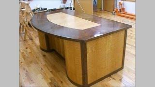 Making A Veneered Executive Desk Part 6-3, Making Drawers: Andrew Pitts~furnituremaker