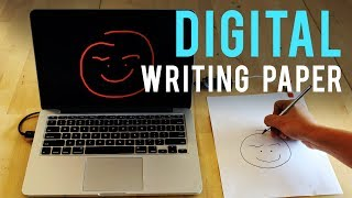 Low-cost Paper Digitizes Writing