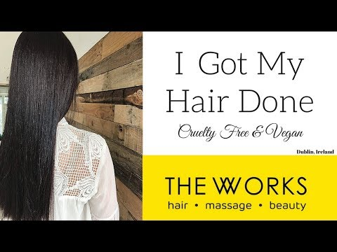 The Works, Hair & Beauty Salon Dublin // Cruelty Free & Vegan