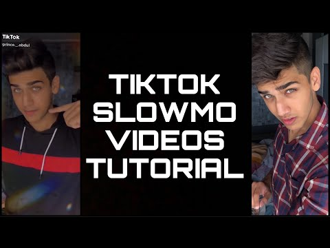 TIKTOK SLOWMO VIDEOS TUTORIAL || HOW TO MAKE PROFESSIONAL SLOWMO VIDEOS || ABDULRAHMAN |