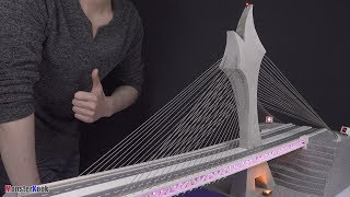 Making most beautiful bridges in the world.