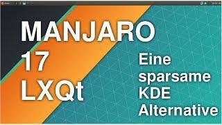 Manjaro LXQt | Eine sparsame KDE Alternative | Linux Deutsch
