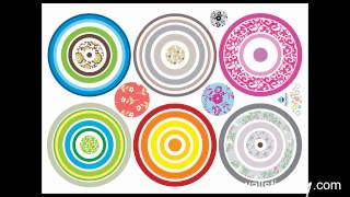 Modern Circle Wall Stickers For Home Depot Ideas At Wallstickery