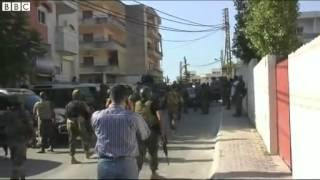BBC News   Lebanon clashes  At least 16 soldiers killed in Sidon