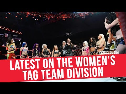 The Latest On The WWE Women's Tag Team Division