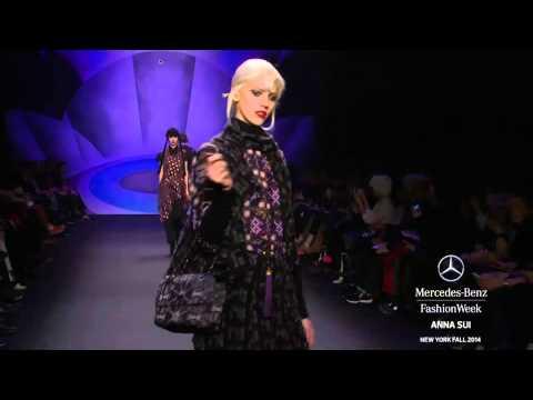 """""""ANNA SUI"""" New York Fashion Week Fall Winter 2014 2015 by Fashion Channel"""