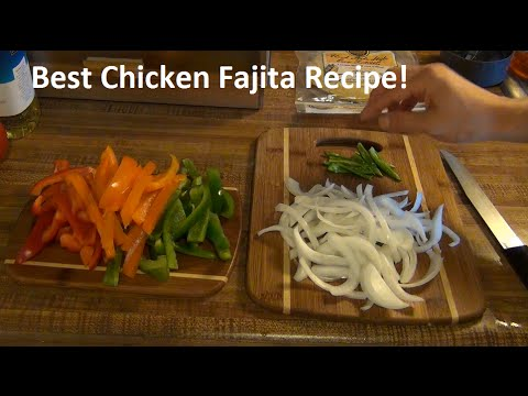 Best Chicken Fajita Recipe: Simple Homemade