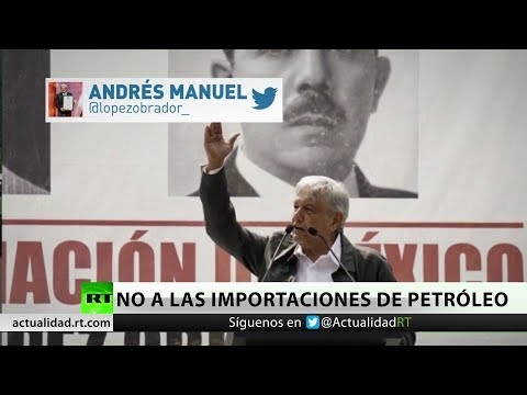 López Obrador critica que México importe petróleo del extranjero