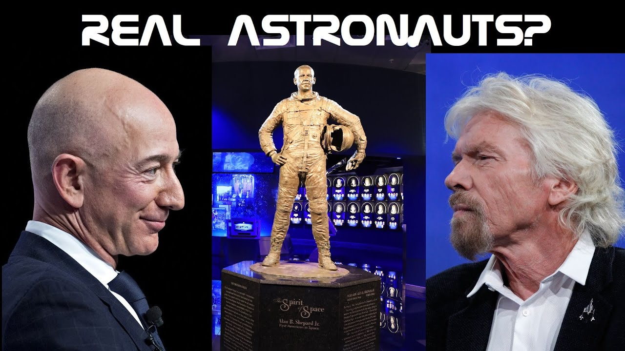 Can Bezos and Branson Be Called Astronauts? It Depends Who You Ask.