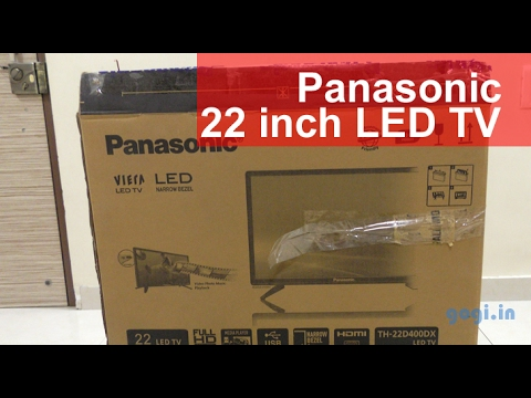 Panasonic 22 Inch TH-22D400DX Full HD LED TV Review Best For Rs. 9,790