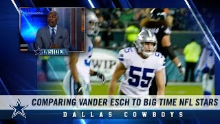 Cowboys Insider: Comparing Leighton Vander Esch to Other Big Time NFL Stars | Dallas Cowboys 2018