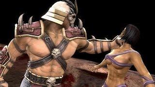 Mortal Kombat Komplete New Fatality + All Boss Fatalities on Mileena