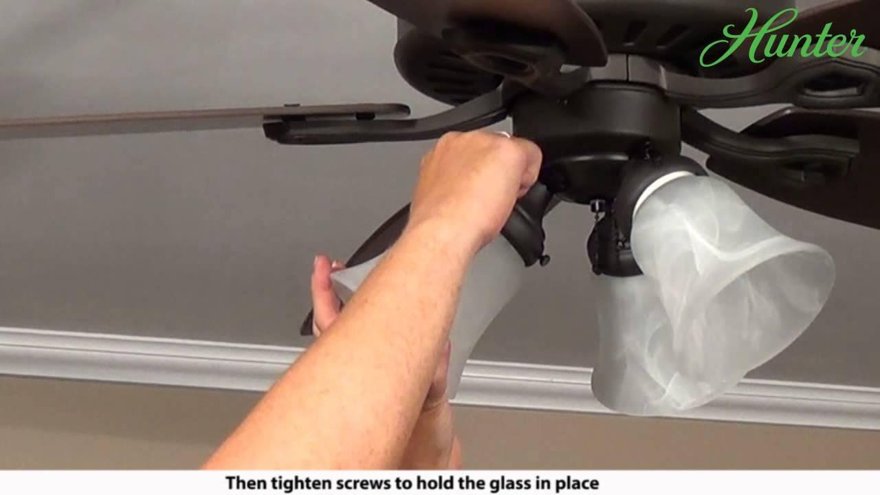 Removing Hunter Ceiling Fan Blades Www Gradschoolfairs Com