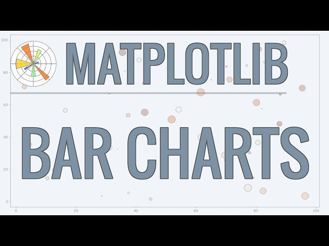 Matplotlib Tutorial (Part 2): Bar Charts and Analyzing Data from CSVs