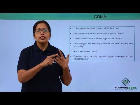 Mobile Communication Protocols - CDMA