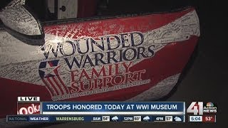 Troops honored for Veterans Day