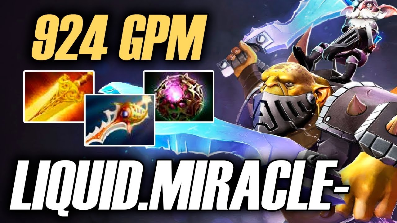Miracle Alchemist 924 GPM Liquid Vs Secret TI7 Pro