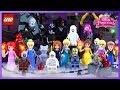 ♥ LEGO Disney Princess CHRISTMAS NIGHTS Stop-Motion Cartoon Animation for Kids