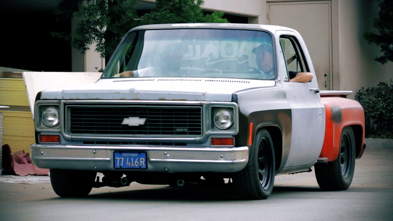 Muscle Truck Revamp on a 1974 Chevrolet C10! - Hot Rod Garage Ep ...