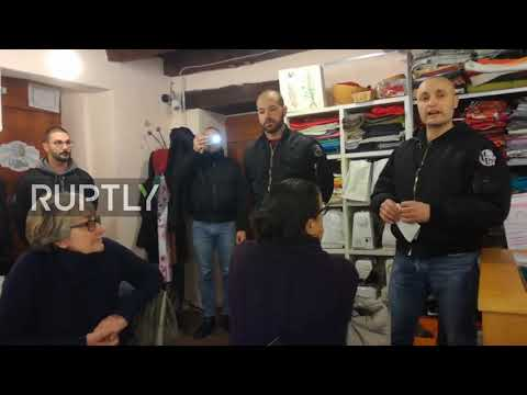 Italy: 15 skinheads raid pro-migrant meeting in Como