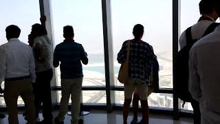 Mi viaje a Dubai (EUA) merchandising en el TOP del Burj Khalifa