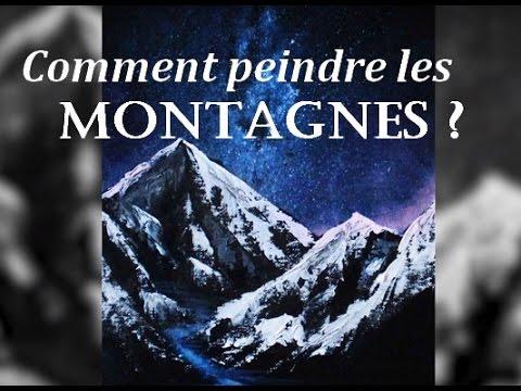 Tutoriel Comment Peindre Les Montagnes   Youtube