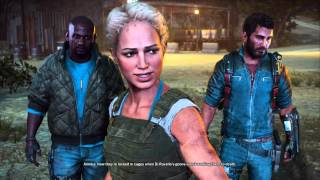 Just Cause 3 - The Great Escape: Annika & Teo Captured Rebels In Prison Dialogue Briefing Cutscene