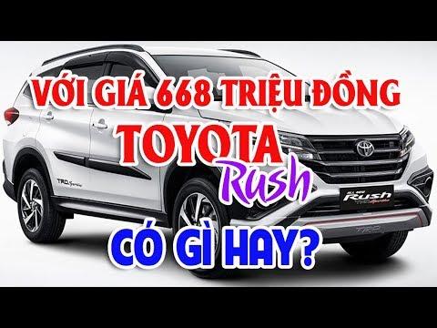 Giá 668 triệu Toyota Rush có gì hay? Toyota Avanza: Thông số chi tiết